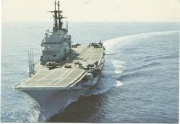 Z5170 Marina Militare Italiana - Incrociatore Portaerei Giuseppe Garibaldi - Navi Ships Bateaux / Non Viaggiata - Sailing Vessels