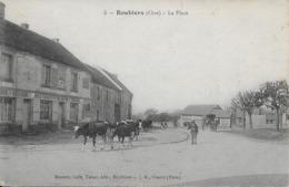 Boubiers La Place Cpa En Bon - Autres Communes