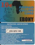 GREECE - Ebony, Petroulakis Prepaid Card 10 Euro, Used - Grèce