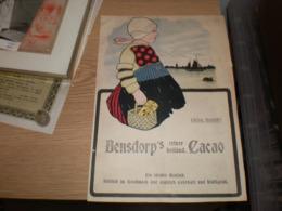Advertising Bensdorp S Reiner Holland Cacao  Schoenhut S Hupty Dumpty Circus 1906 - Reclame