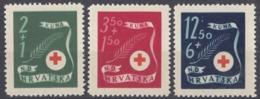 CROAZIA - 1944 - Serie Completa Di 3 Valori Nuovi MNH: Yvert 131/133, Come Da Immagine. - Kroatien