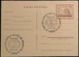 1969 Poland - Swiebodzin XXII Kolarski Wyscig Pokoju  - Special Cancel On Postal Stationery - Segeln