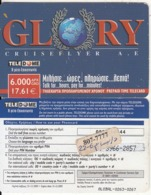 GREECE - GLORY, Teledome Prepaid Card 6000 GRD/17.61 Euro(807 7777), Exp.date 31/12/03, Used - Grèce