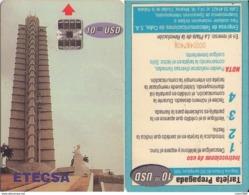 TELECARTE PHONECARDS TARJETAS TELEFONO CUBA INTERTEL 20 Tc R-v DIFF - Kuba