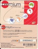 GREECE - Premium Prepaid Card 7 Euro(small Barcode), Used - Grèce