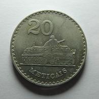 Moçambique 20 Meticais 1980 - Mozambique