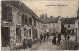 CPA 02 - BAULNE (Aisne) - Rue Principale (animée) - Ed. Ducrocq - Frankrijk