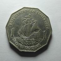 East Caribbean States 1 Dollar 1989 - Ostkaribischer Staaten