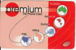 GREECE - Premium Prepaid Card 6 Euro, Used - Grèce