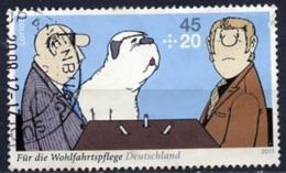 ALLEMAGNE ALEMANIA GERMANY DEUTSCHLAND BUND 2011 Themes By Loriot: Dr. Sommer & Bello  MI 2836 YV 2661 SC B1042 SG 3695 - Gebraucht