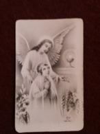 (V) Faire- Part De Communion Portrait à L'arrière ( ELI Dep 817 , Imprimé En Italie). - Communion