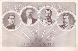 ANNEE 1915         NICOLAS II  + LES ALLIES - Guerre 1914-18