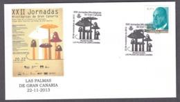43.- SPAIN ESPAGNE 2013 MICOLOGY DAYS ON CANARY ISLANDS. LAS PALMAS DE GRAN CANARIA. MUSHROOMS. FUNGI, CHAPIGNONS - Hongos