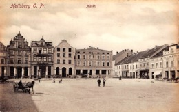 CPA - Pologne - Poland, HEILSBERG, Markt - Poland