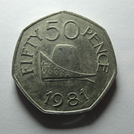 Guernsey 50 Pence 1981 - Guernsey