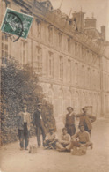 """Carte Photo à Identifier - Personnages - Ouvriers ? (papier """" LAMY"""", Courbevoie) - Postcards"""