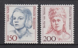 Germany MNH Michel Nr 1497/98 From 1991  / Catw 6.00 EUR - [7] Repubblica Federale