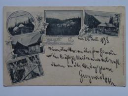 Romania F31 Siebenburgen Karpathen As Litho 1898 - Rumänien