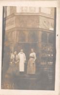Carte Photo à Identifier - Commerce  ? (inscrit Au Verso BROGLIE 1912) - To Identify