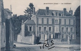 CPAF - MONTIGNY (oise) LE CHATEAU - France