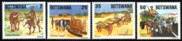 Botswana - 1984 Traditional Transport Set (**) # SG 558-561 , Mi 341-344 - Sonstige (Land)