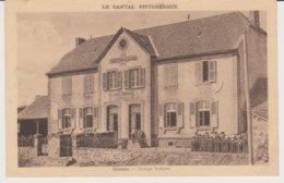 CEZENS  (Cantal)  Groupe Scolaire - France