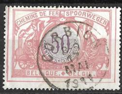 B0.28: CORBION  8-9 17 MAI 1911: N°TR35: Poststempel: Type E11a [franse Mmand] - Chemins De Fer