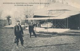 """Aviateur GUILLAUX   - Signature Autographe Sur CP """" MEETING La Rentrée Au Hangar """" St Jean De Monts Vendée - Aviateurs"""