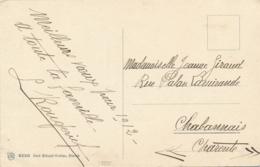 Aviateur L. ROUGERIE    - Texte Et Signature Autographe Sur CP - Pionnier Vol Sans Visibilité - BUC 12/1911 - Aviateurs