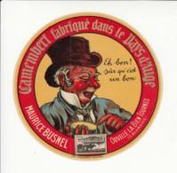Etiquette De Fromage Camembert - Maurice Busnel - Ouville La Bien Tournée - Calvados. - Quesos