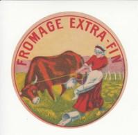 Etiquette De Fromage Extra-fin. - Quesos