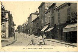 69  SAINT GENIS LAVAL  RUE DE LYON - France