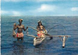 Polynésie Française- TAHITI  Retour De Pêche(3) (pirogue  Vahiné)( LABAYSSE La Baysse N°84)@*PRIX  FIXE - Polynésie Française