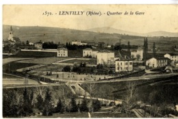 69  LENTILLY  QUARTIER DE LA GARE - France