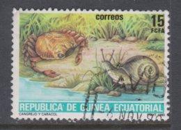 GUINEA ECUATORIAL, USED STAMP, OBLITERÉ, SELLO USADO - Guinea Equatoriale