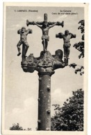 29  LAMPAUL  LE CALVAIRE  CROIX DU XVI SIECLE - Lampaul-Guimiliau