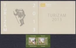 Montenegro 2013 Tourism, Booklet, MNH (**) Michel 330-331 - Montenegro