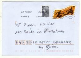Enveloppe FRANCE Oblitération LA POSTE 24984A 30/04/2012 - Poststempel (Briefe)