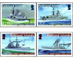 Ref. 240964 * MNH * - FALKLAND Islands. 2009. ROYAL NAVY SHIP . BUQUE DE LA ROYAL NAVY - Falkland