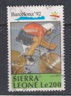 SIERRA LEONA, USED STAMP, OBLITERÉ, SELLO USADO - Sierra Leone (1961-...)