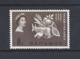 """BAHAMAS......QUEEN ELIZABETH (1952-NOW)..."""" FREEDOM FROM HUNGER...""""...F.F.H.......MH. - Contre La Faim"""