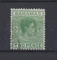 BAHAMAS......KING GEORGE VI.(1936-52).......2d.......SG152c.......USED... - Bahamas (...-1973)