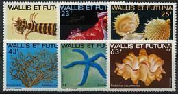 Wallis, N° 248 à N° 253** Y Et T - Wallis And Futuna