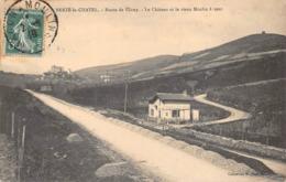 Berzé Le Châtel Voie Ferrée Sans Train Et Vieux Moulin à Vent Canton Cluny - Otros Municipios