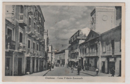 Cartolina - Crotone - Corso Vittorio Emanuele - Crotone