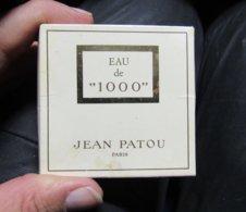 Miniature De Parfum  EAU DE 1000 JEAN PATOU BOITE LEGEREMENT TACHEE - Miniatures De Parfum