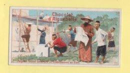Chromo Chocolat Aiguebelle - Religieux Faisant Construire Un Etablissement Au Siam - Aiguebelle