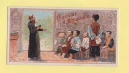 Chromo Chocolat Aiguebelle - Tonkin - Missionnaire Enseignant Les Enfants Annamites - Aiguebelle