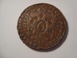 MONNAIE AUTRICHE 6 KREUZER 1800 - Austria