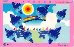 JAPON. Sunfish And Rainbow - Miwako Okamoto. JP-231-131 D. (128) - Japón